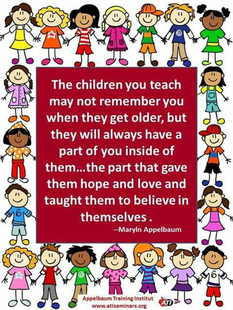 25+ best Kindergarten Teacher Quotes on Pinterest ...