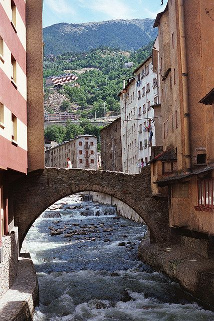 *Andorra la Vella Pyrenees.* Since the day the day I learned of Andorra, I've felt it pulling me to visit. ❤️