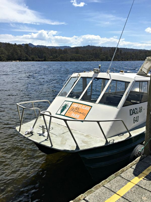 Derwent Bridge - Lake St Clair Wilderness Ferry Photo and article for think-tasmania.com