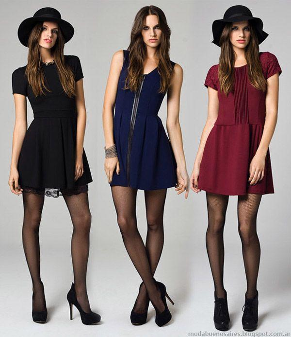 Vestidos otoño invierno 2014. Moda otoño invierno 2014 colección Mab.