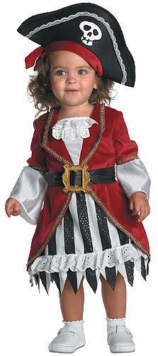 Toddler Girl Pirate Costume-Madilyn loves playing pirates!