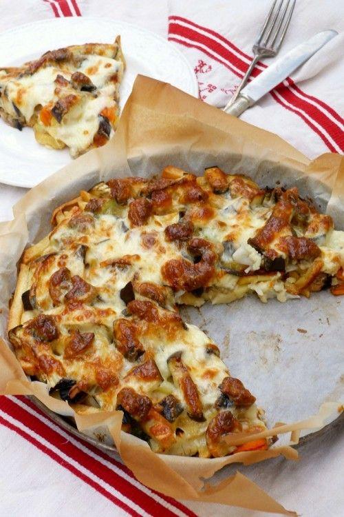 Rakott zöldség sajttal recept