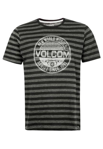 Camiseta Volcom Atomo Preta - Compre Agora | Dafiti Brasil