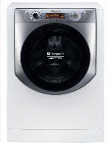 Hotpoint AQ94D 49D IT Libera installazione Caricamento frontale 9kg 1400RPM A+++-10% Argento, Bianco lavatrice