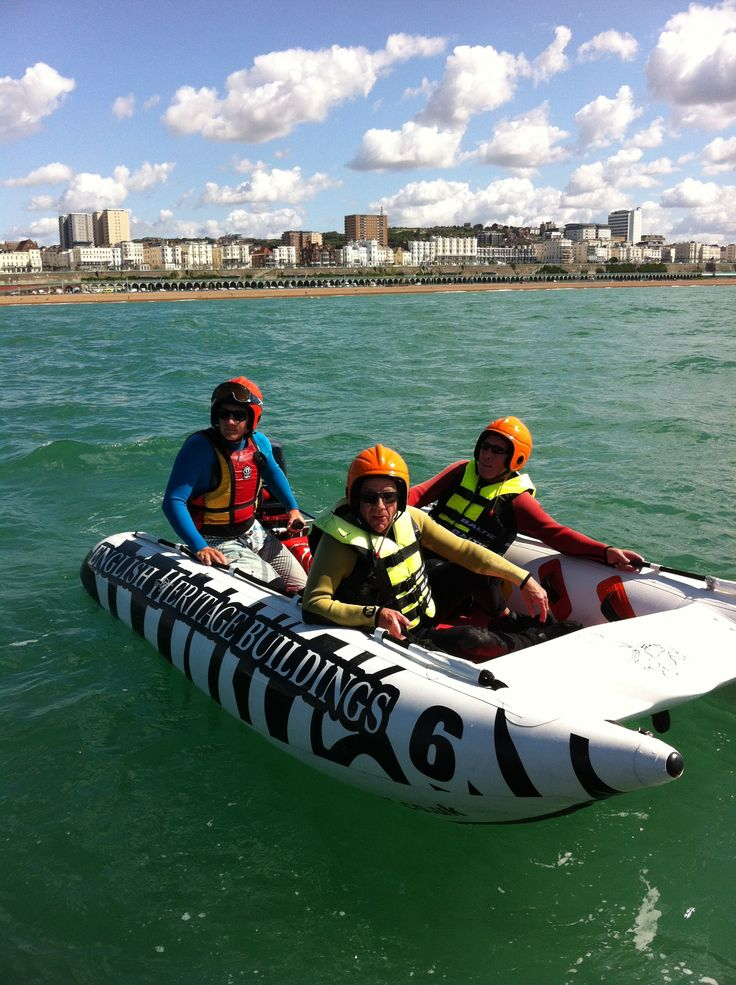 Heading out on the water with Blind Veterans UK #brighton