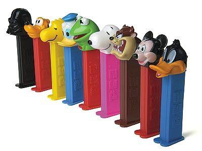 Nostalgia - Pez dispensers - Classic Toys