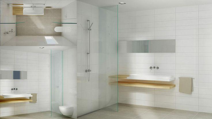 Badkamer indelen met Mosa tegels