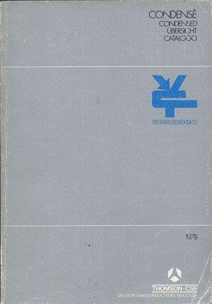 SESCOSEM 1978, Thomson-CSF, 1978, http://www.antykwariat.nepo.pl/sescosem-1978-p-13845.html