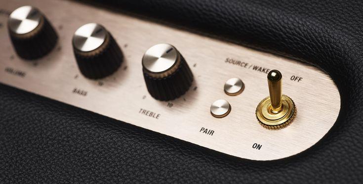 marshall stanmore wireless speaker button