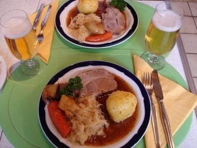 Rezept: Bayerischer Schweinebraten mit Knödel und Sauerkraut Bild Nr. 19