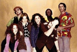 Original Cast of SNL. Bill Murray would soon join after Chevy Chase left, but Bill Murray deserves his own pin anyway.