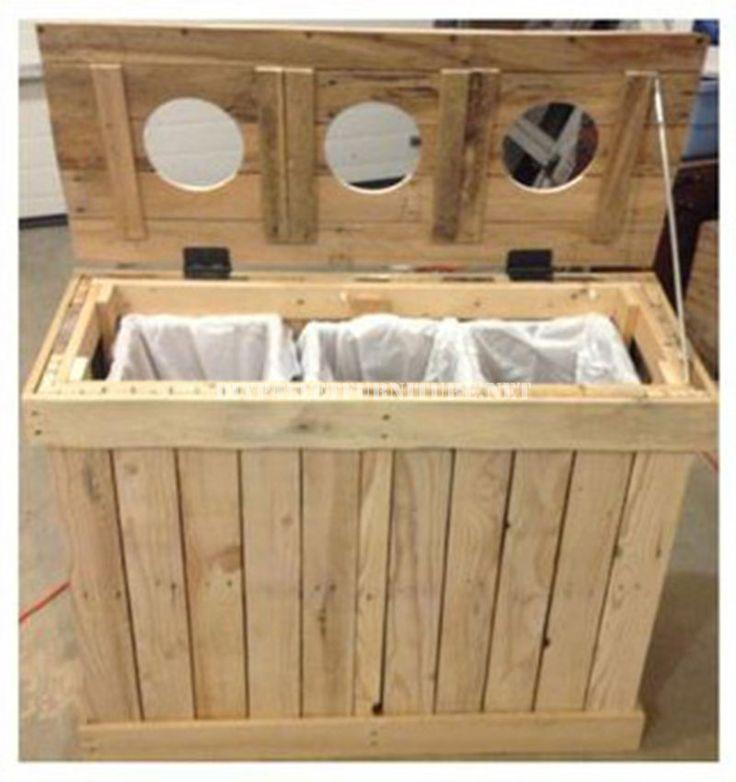 este proyecto de diy con palets nos ensea como hacer un de reciclaje perfecto