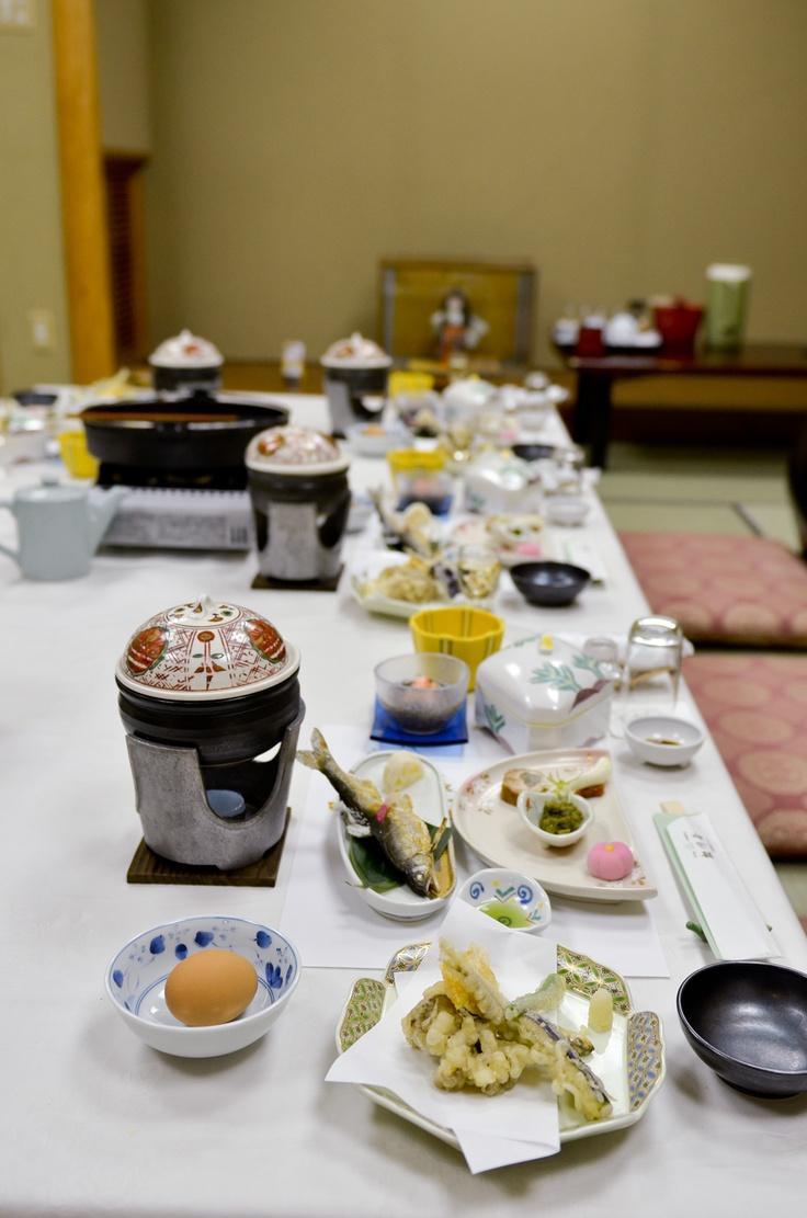 Dinner of Matsukawaya