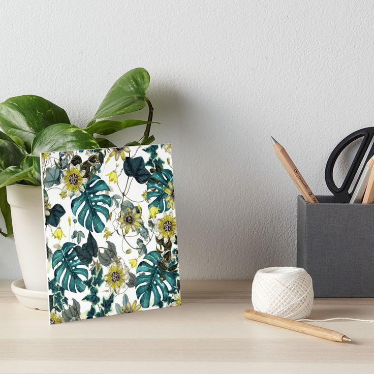 Art Boards Tropical Flowers by talipmemis