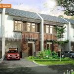 Design rumah Nusa Loka Park BSD City.