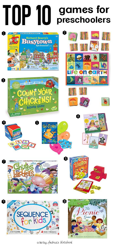Top 10 games for preschoolers | 4 baby & kids 3000 | Pinterest ...