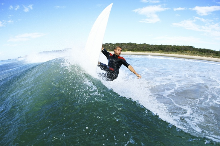 Popular & well known surfing beach Scotts Head is found in the Nambucca Valley.