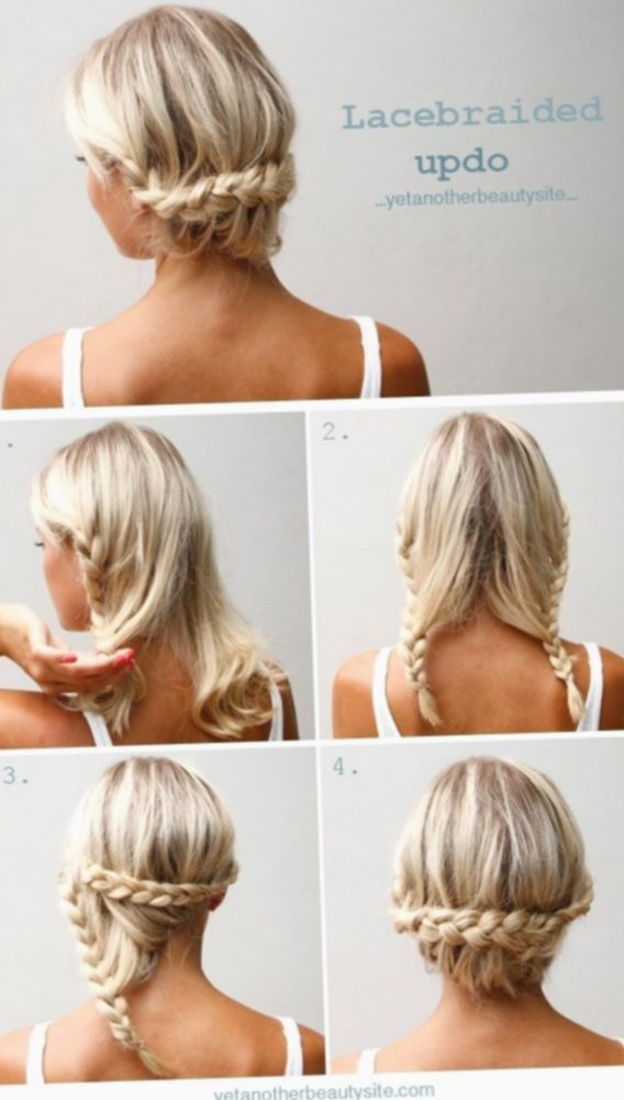 Hairstyles For Medium Length Hair No Heat Easy Updo Balayage Blonde Hairinspo In 2020 Medium Hair Styles Middle Hair Thick Hair Styles