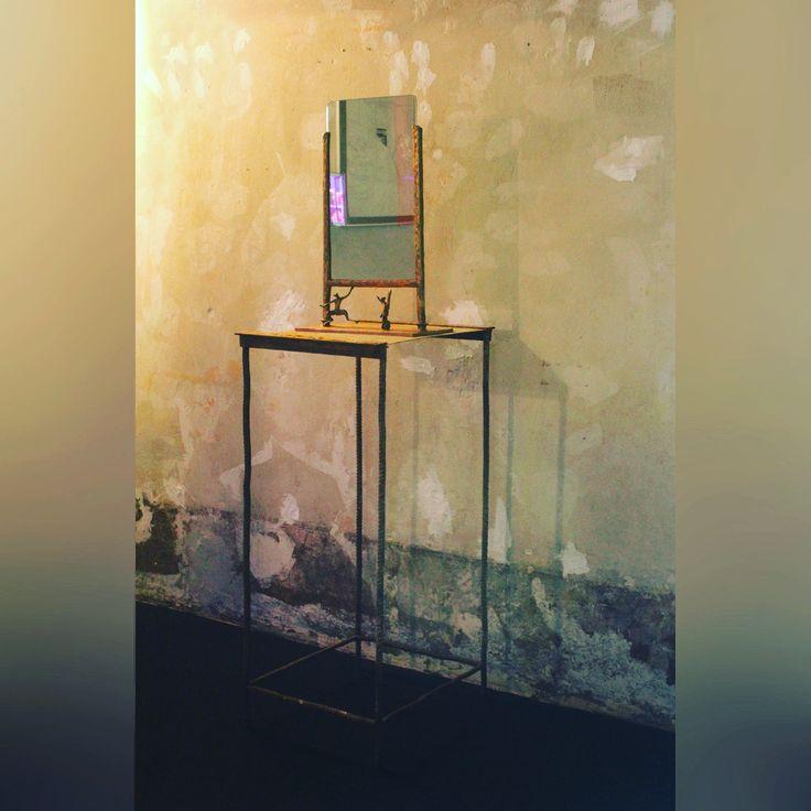 "A new beautiful piece by Simone Ricart ""Poggio Reale"" mirror (2008) has arrived at Erastudio Apartment Gallery #erastudio #erastudioapartmentgallery #designgallery #apartmentgallery #gallery #collectibledesign #simonericart #contemporarydesign #design #mirror #art #arte #artadvisor #artdealer #artcurator #artconsultant #bronze #italiandesign #italianartist #artlover #designer #stylist #designart #milan #italy"
