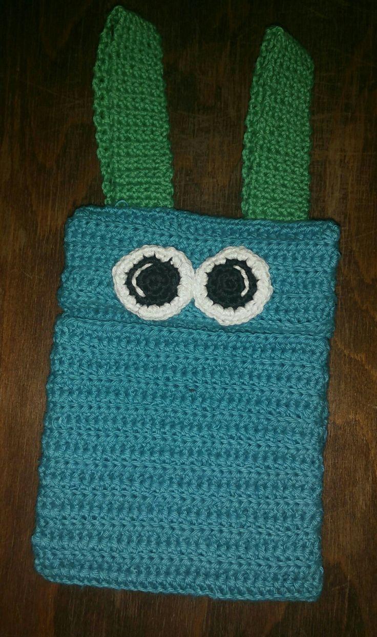 En monster-suttepose fra Tante Tråds hjemmeside