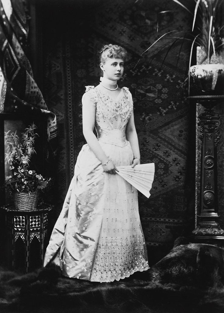 Princess Marie of Edinburgh, future Queen of Romania; November, 1890.