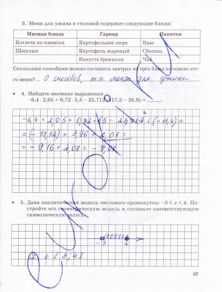 Решебник По Математике Для Контрольных Работ 6 Класс Зубарева Лепешонкова