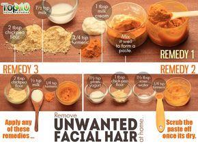 Spearmint tea unwanted facial hair remedy