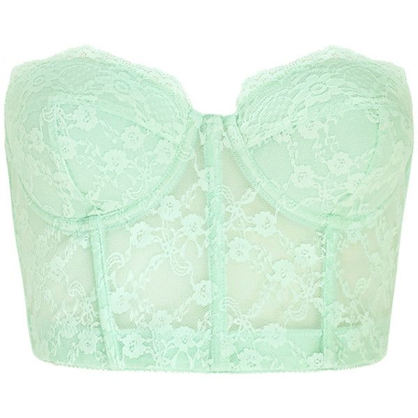 FOREVER 21 Strapless Lace Corset Bra ($15) ❤ liked on Polyvore featuring intimates, bras, tops, bustier, shirts, corsets, lace corset, strapless corset bra, lace underwire bra and strapless corset
