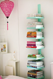 Reading Corner Bookshelf - I know a certain young lady that could really use this in her room...