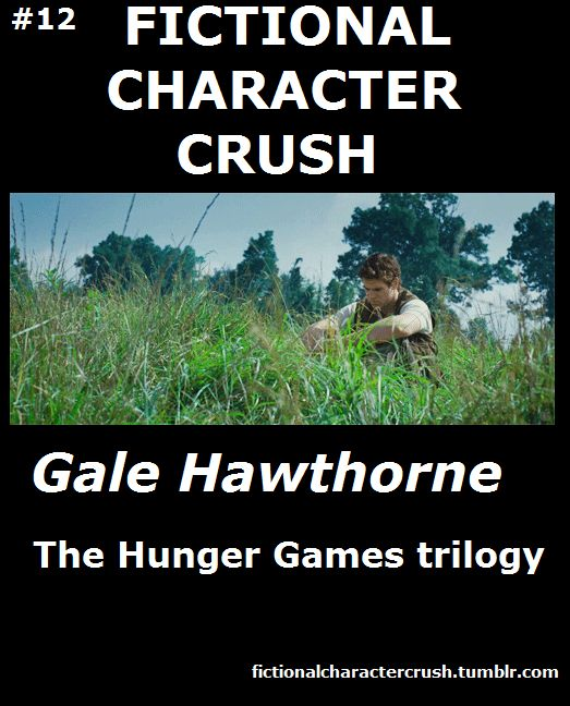#12 - Gale Hawthorne from The Hunger Games Trilogy