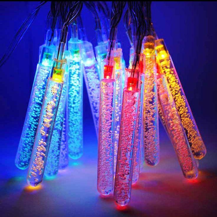 Solar Led String Lights Outdoor Enchanting 22 Best Christmas Lights Images On Pinterest  Christmas Tree