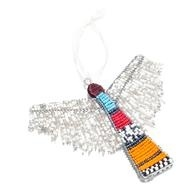 Beaded Angel Ornament : divHandmade by artisans in South Africa, this colorful angel puts a new twist on a classic decoration./div
