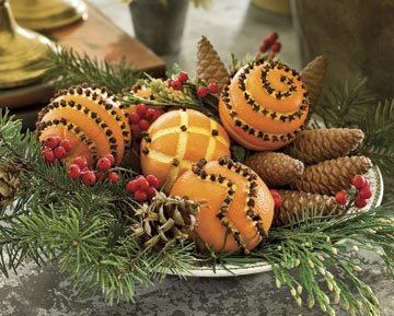 christmas craft ideas: fragrant christmas oranges | make handmade, crochet, craft
