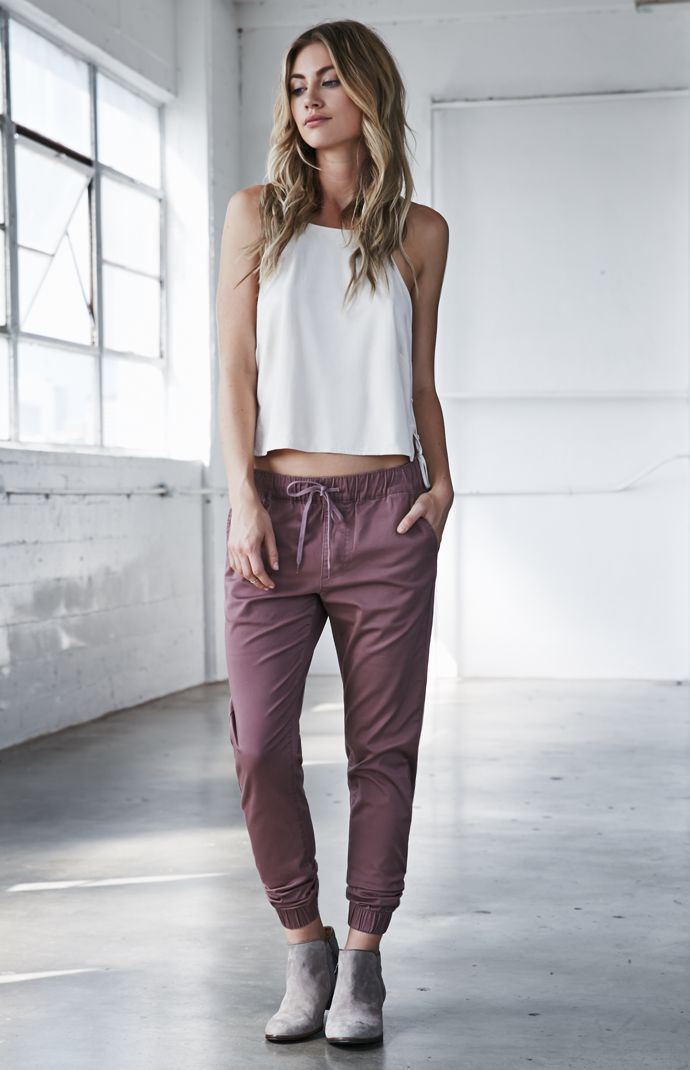 Best 25+ Jogger Pants Ideas On Pinterest | Sporty Fashion Outfits With Green Pants And Chill ...