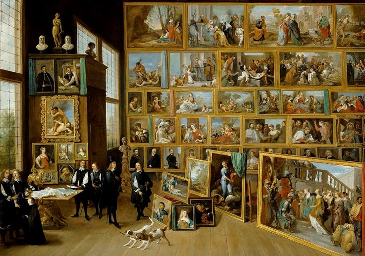 Part of the famous collection formed by Archduke Leopold Wilhelm of Austria when Governor of the Spanish Netherlands from 1647 to 1656.David Teniers the Younger