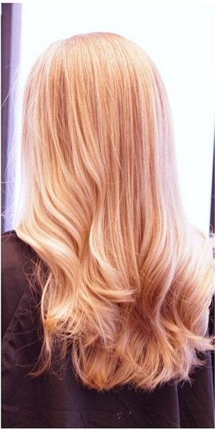 strawberry blonde, rose gold color