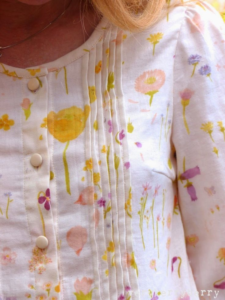 Stylish Dress Book One: as blouse rather than dress length by @verykerryberry