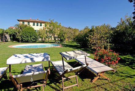 Villa La Chiusa - English Home Page