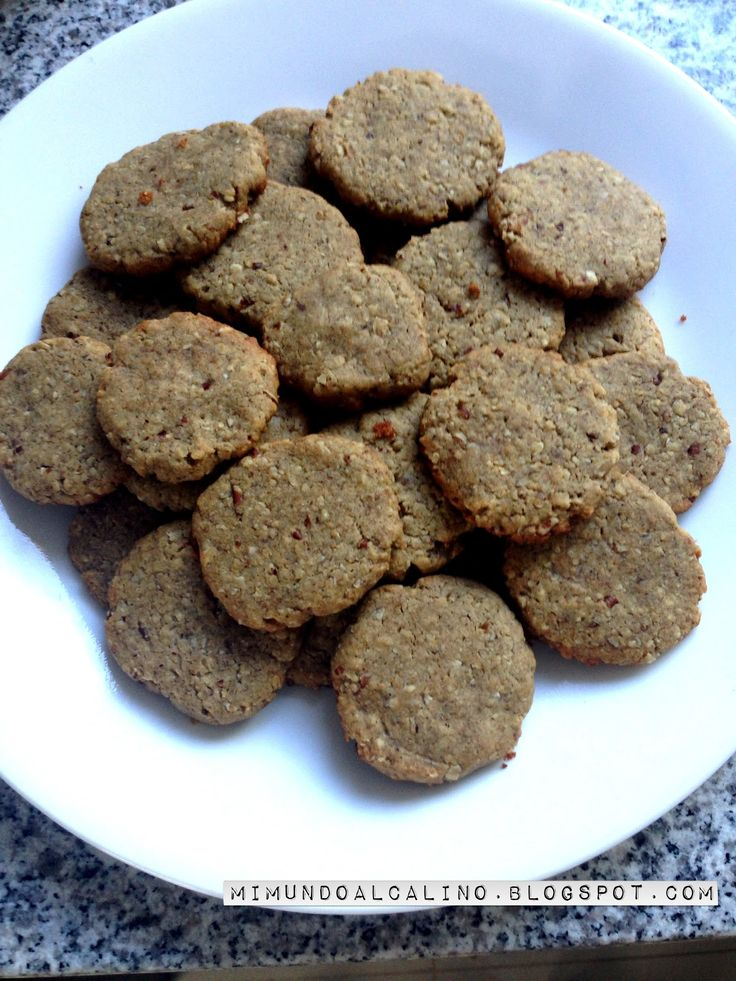 Mi Mundo alcalino: Pecan Vegan Cookies (GF)