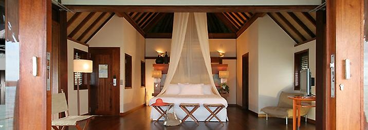 Moorea Tahiti, Sofitel Beach Resort- our honeymoon spot...room looked just like this!