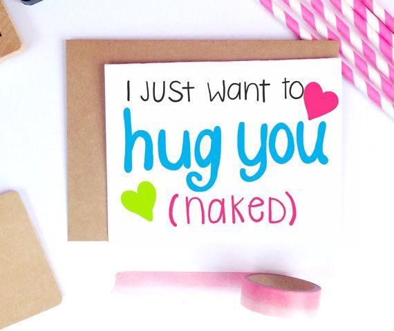 Sexy Valentine Card Naughty Card Sexy Boyfriend by LailaMeDesigns