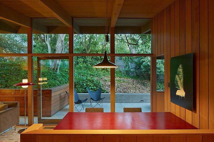 Mid-Century Modern Renovation by Koch Architects | Home Adore