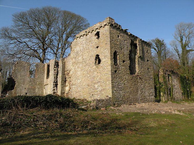 Candelston Castle, Merthyr Mawr, South Wales
