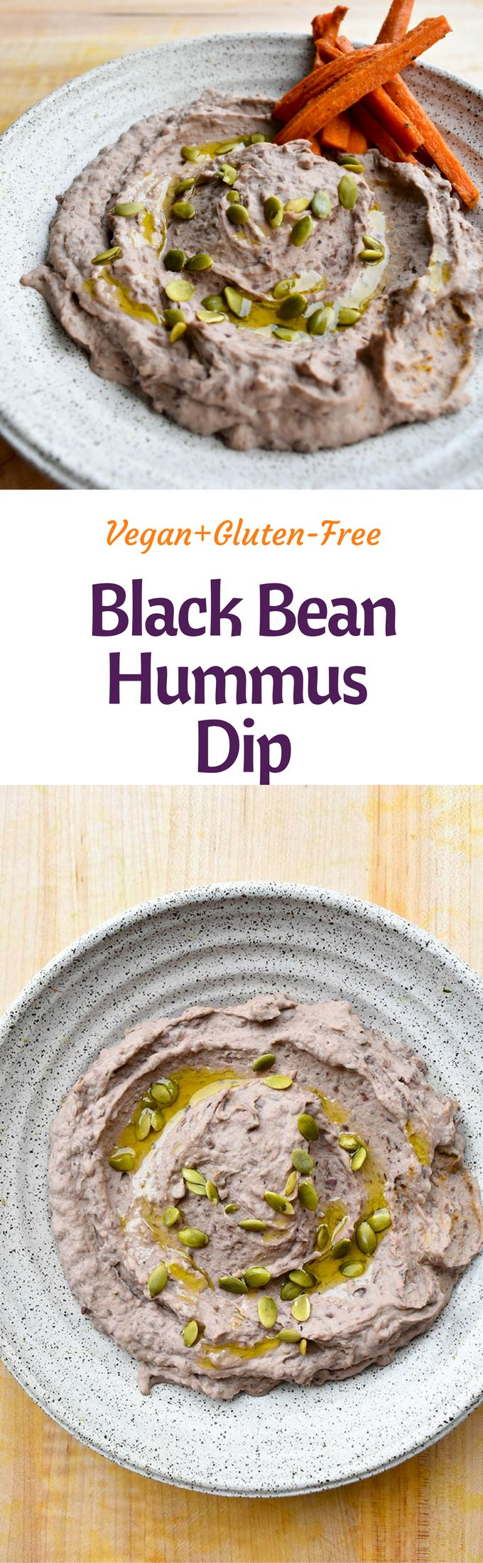 Sides don't get any better than this easy Black Bean Dip. It doubles as a side dish or a hummus and makes anything instantly more delicious. It's totally healthy, plant-based, gluten-free, and takes 5 minutes to make. I literally eat this with everything and am not embarrassed to say it! It's an amazing refried bean replacement for tacos or burritos and is fantastic in Buddha or macro bowls.