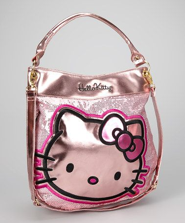 Take a look at this Metallic Shine Hello Kitty Tote by Hello Kitty on #zulily today!