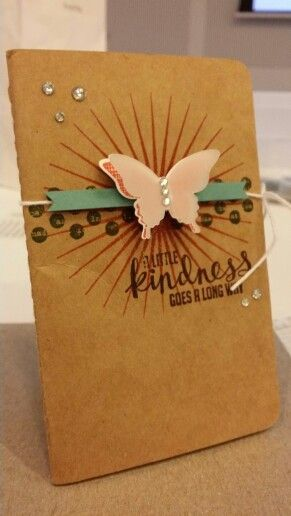 Kinda Eclectic stamp set from Stampin Up Convention make and take. #inspirecreateshare2014 www.chloscraftcloset.blogspot.com