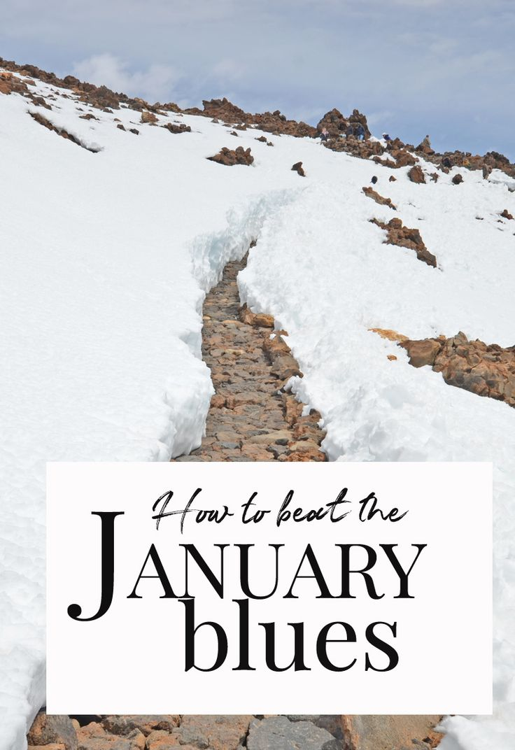 How to beat the January blues: what to do when January rolls around, you´re back at work, and you just can´t seem to muster the necessary energy to start smashing all those goals you set yourself at the start of the year