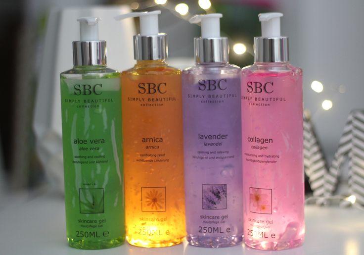 Wir lieben die Gele von SBC!