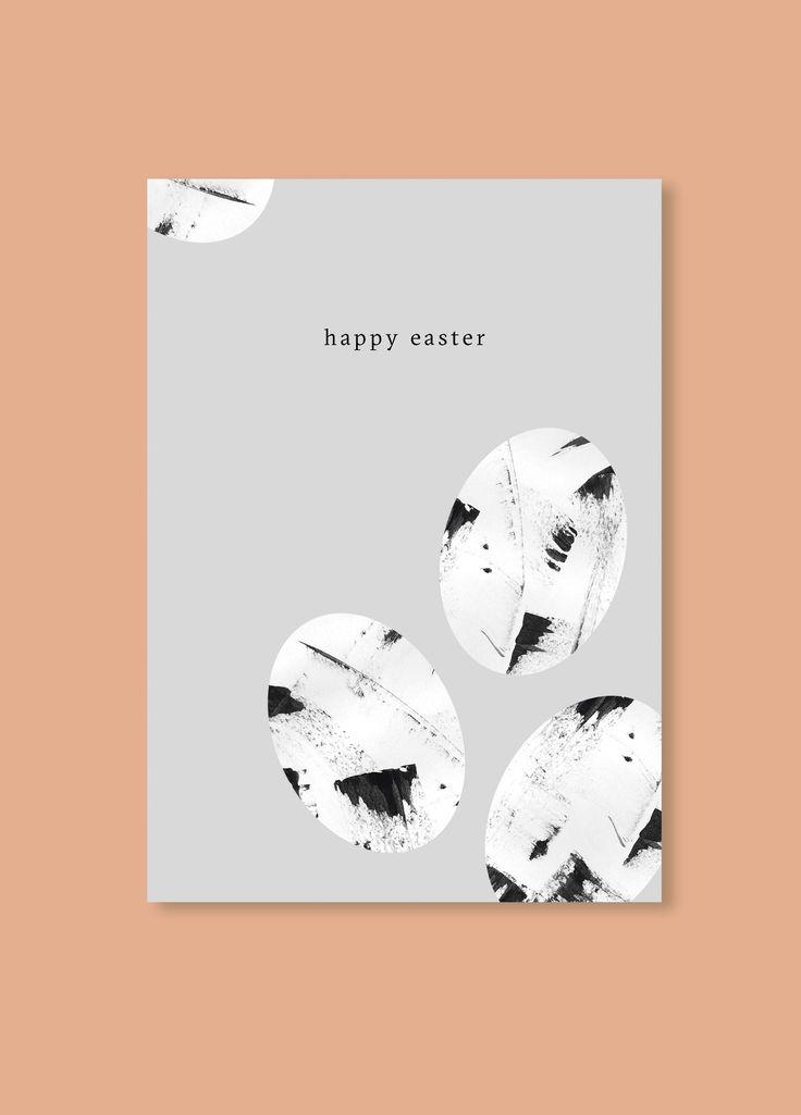 Free Minimalistic Easter Card | Printable