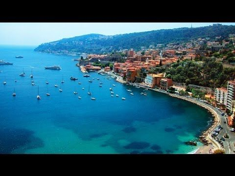 Nice (South of France) - drive along the coast - YouTube